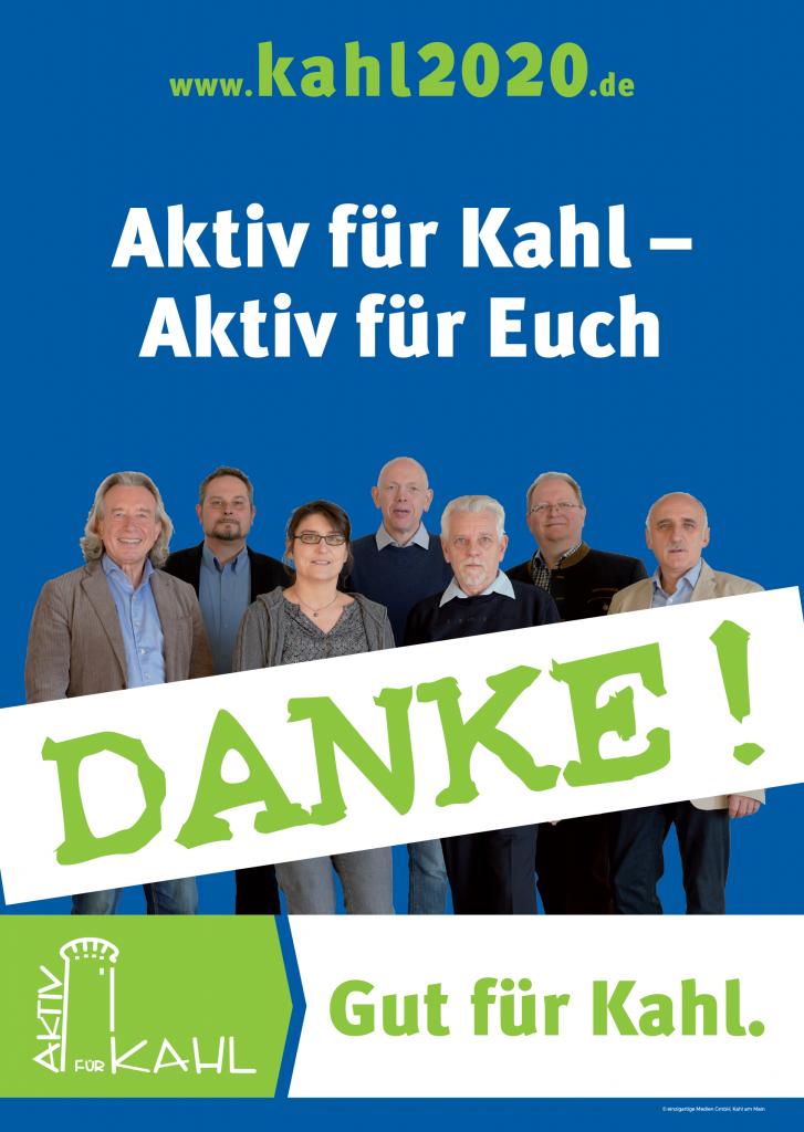 Plakat Gruppe Danke
